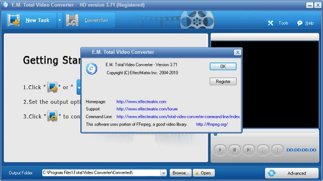 Total Video Converter.